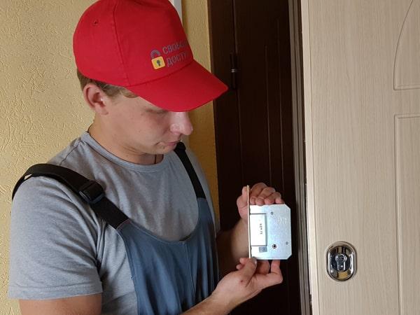 Замена замка на входной двери